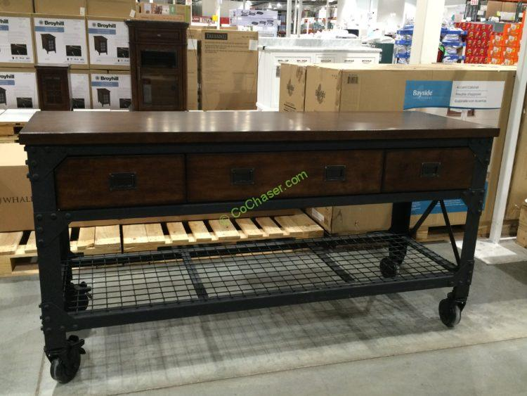Whalen Industrial Metal Amp Wood Workbench Costcochaser