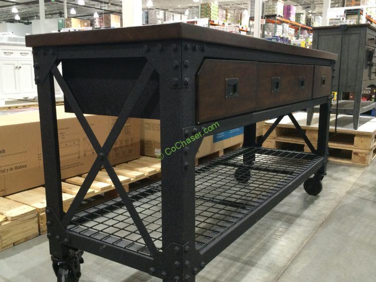 Whalen Industrial Metal & Wood Workbench – CostcoChaser
