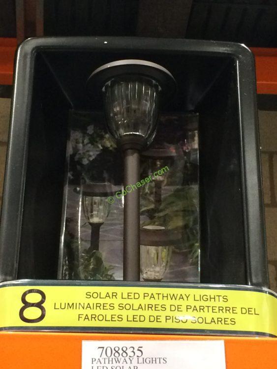Pathway Lights Led Solar 8 Pk Model Gtx 10055 8pk