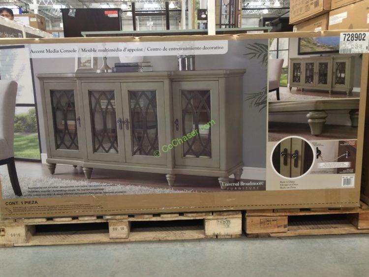 Universal Furniture Broadmoore 65 Accent Media Console