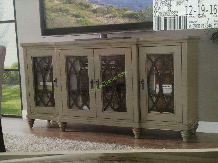 Universal Furniture Broadmoore 65 Accent Media Console