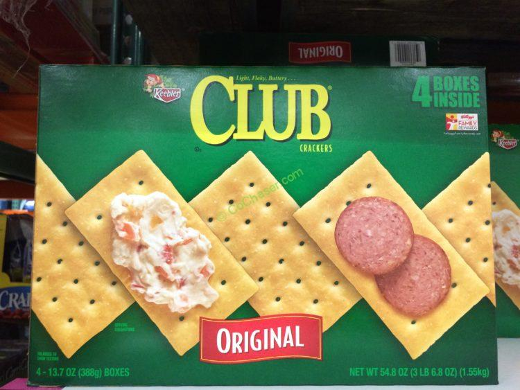 Keebler Club Crackers 54.8 Ounces