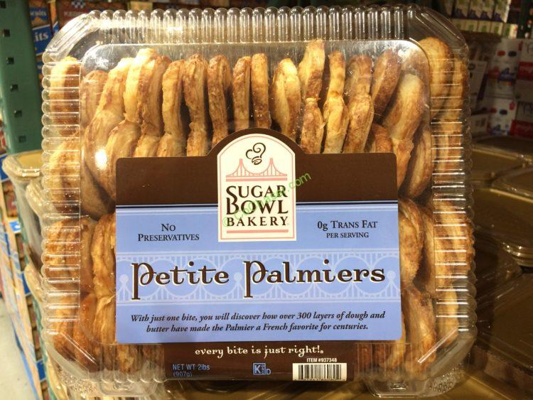 Sugar Bowl Bakery Petite Palmiers 32 Ounce Container