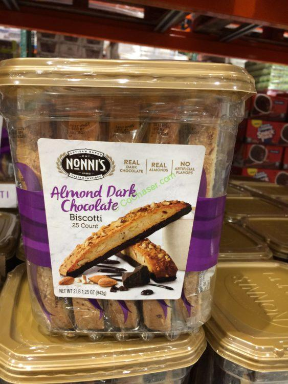 NONNI's Biscotti Almond Chocolate 33.25 Ounce Container