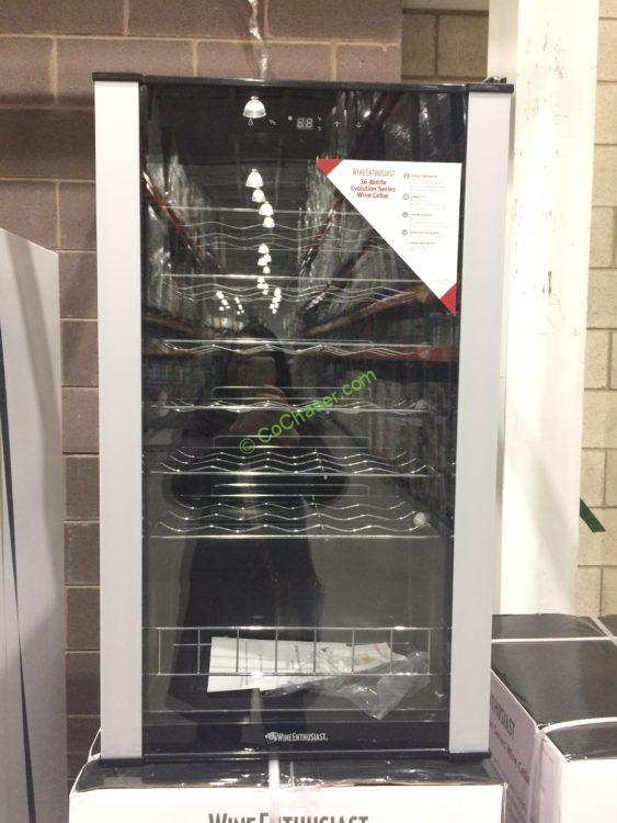 Costco-1016701-The-Wine-Enthusiast-36-Bottle-Wine- & The Wine Enthusiast 36 Bottle Wine Cooler u2013 CostcoChaser