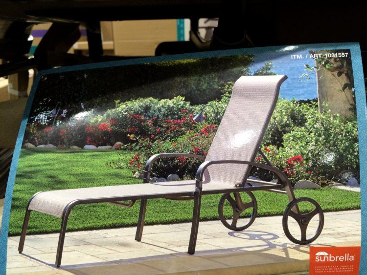 Costco 1031557 Sunvilla Sling Chaise Lounge Pic