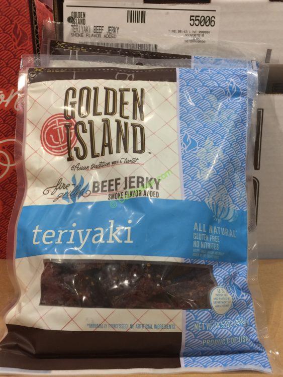 Golden Island Teriyaki Beef Jerky 14.5 Ounce Bag