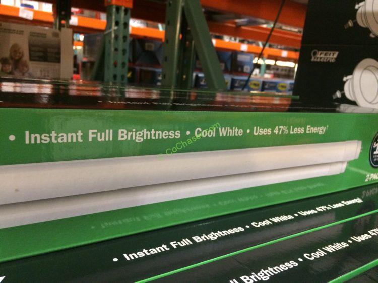Felt Electric 4 Ft Led Linear Tubes 2 Pack Costcochaser