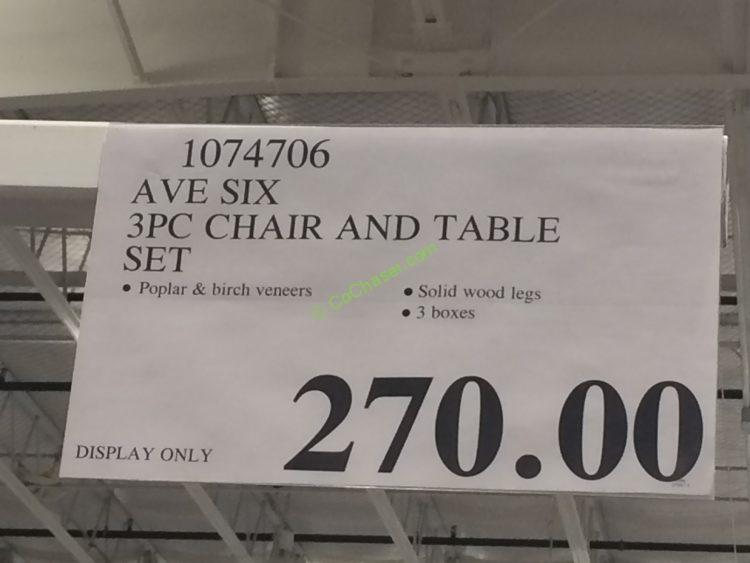 Costco-1074706- AVE-SIX-3PC-chair-and-Table-Set-tag