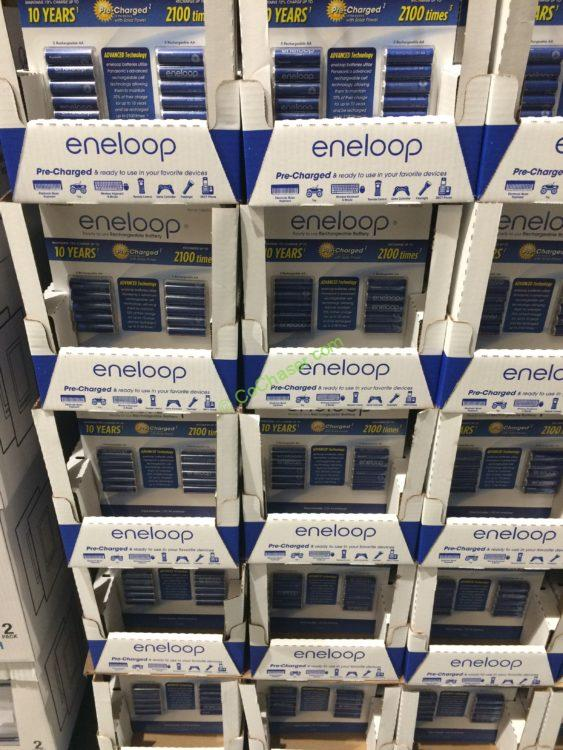 Panasonic Eneloop Rechargeable Batteries, 10 Pack for AA or 12 Pack for AAA