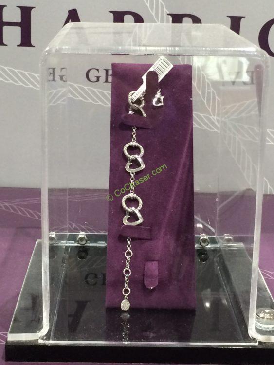 Charriol 100 Ways To Love Silver Heart Bracelet Costcochaser