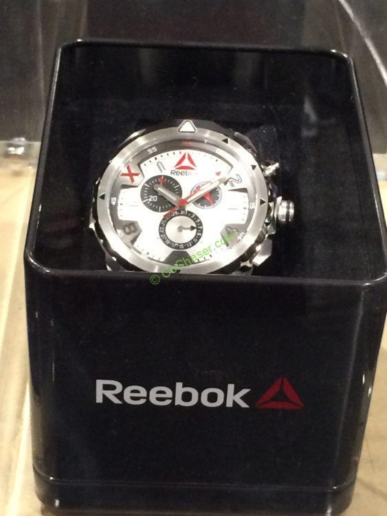 Reebok Impact Stainless Steel Men's Watch, Model# RD-IMP-G6-S1IB-1B
