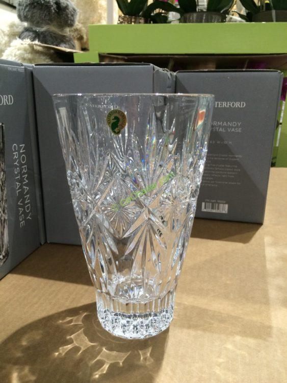 Waterford Normandy Crystal Vase Costcochaser