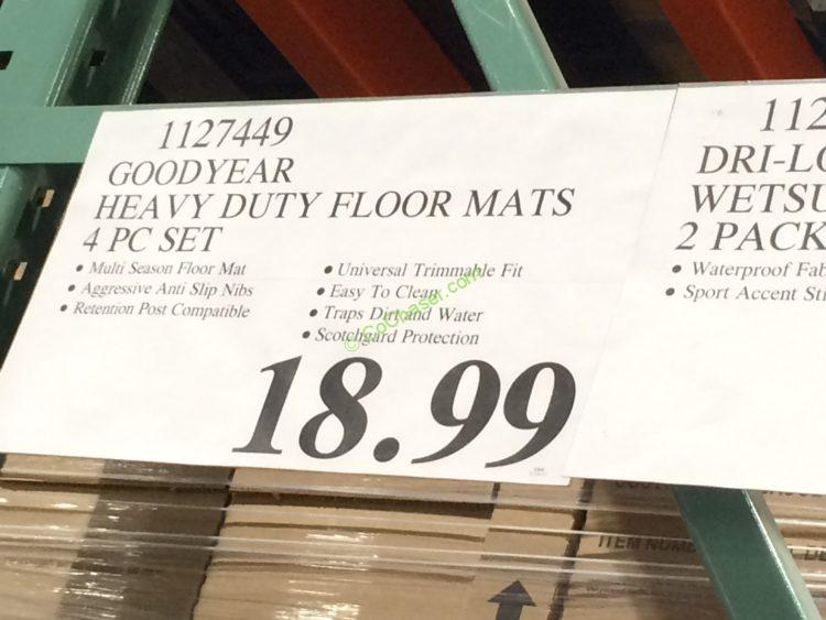 Costco-1127449-Goodyear-Heavy-Duty-Floor-Mat-tag