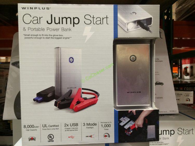 Costco 1750766 Lithium Jump Starter Portable Power Bank Box