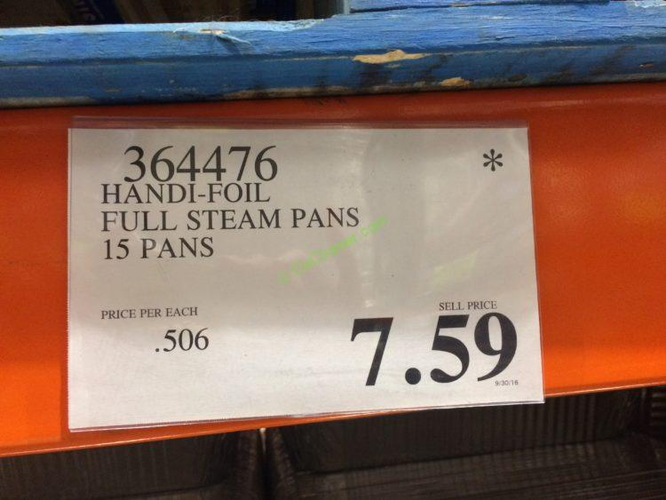 Eco Foil Full Size Deep Steam Table Pans 15 Pans