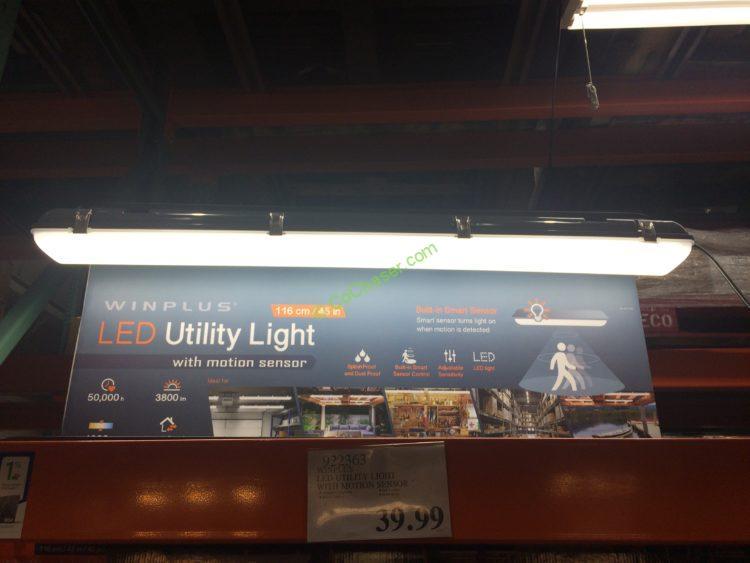 Winplus LED Utility Light with Motion Sensor