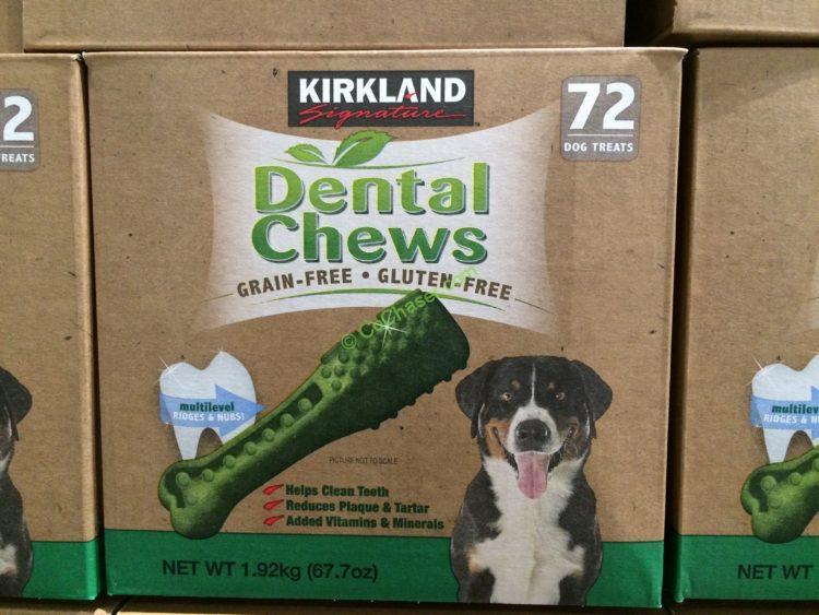 Kirkland Signature Grain Free Dental Chew 72 count