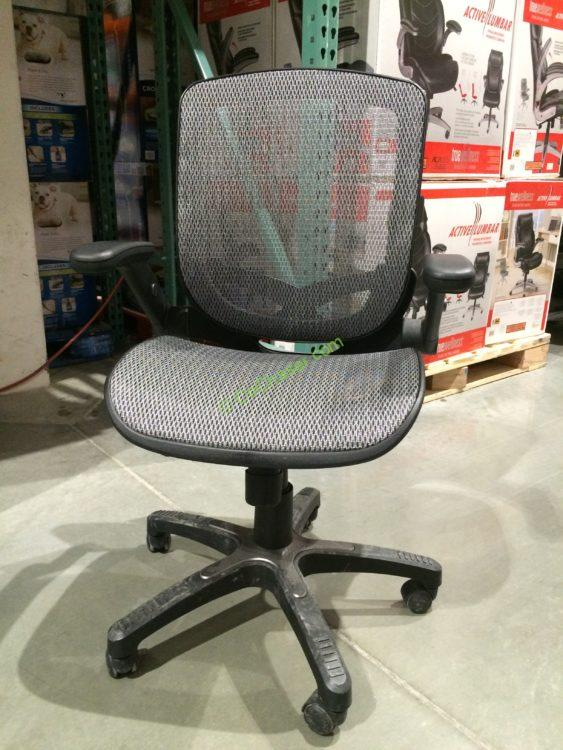 Bayside Furnishings Metrex III Silver Mesh Office Chair