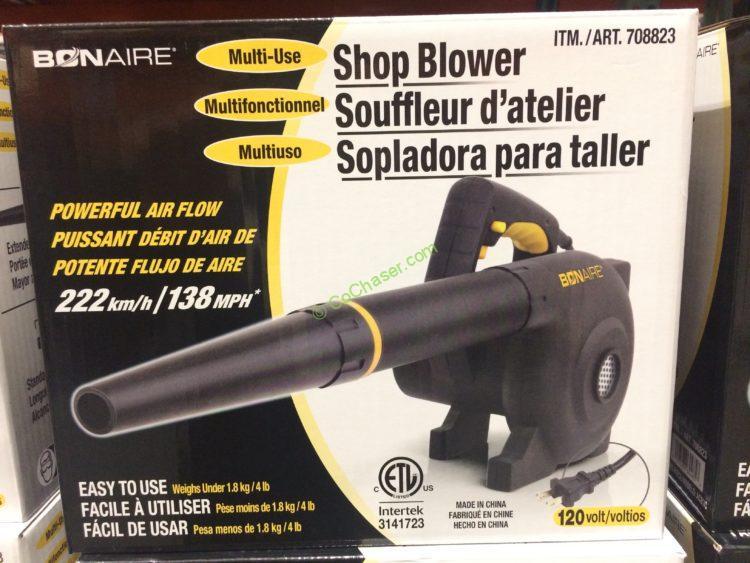 BON-AIRE Industries Multi-Use Shop Blower 120 Volt Model#ACB3C