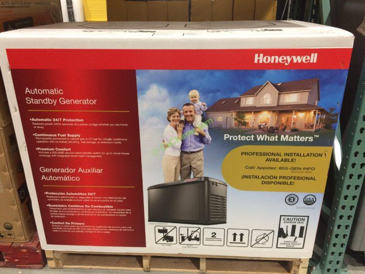 Costco 1102646 Honeywell 17kw Automatic Standby Generator Box