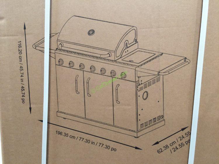 Kitchenaid Gas Grill Costco simple kitchenaid barbecue grills costco throughout design ideas