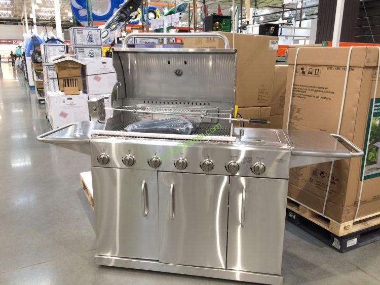 Kitchenaid Bbq Grill Costco stainless steel 7-burner grill m#rc3218 – costcochaser