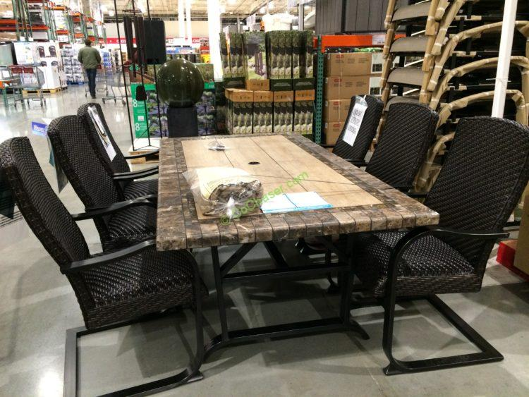 Outdoor Aluminum Sling Dining Chairs