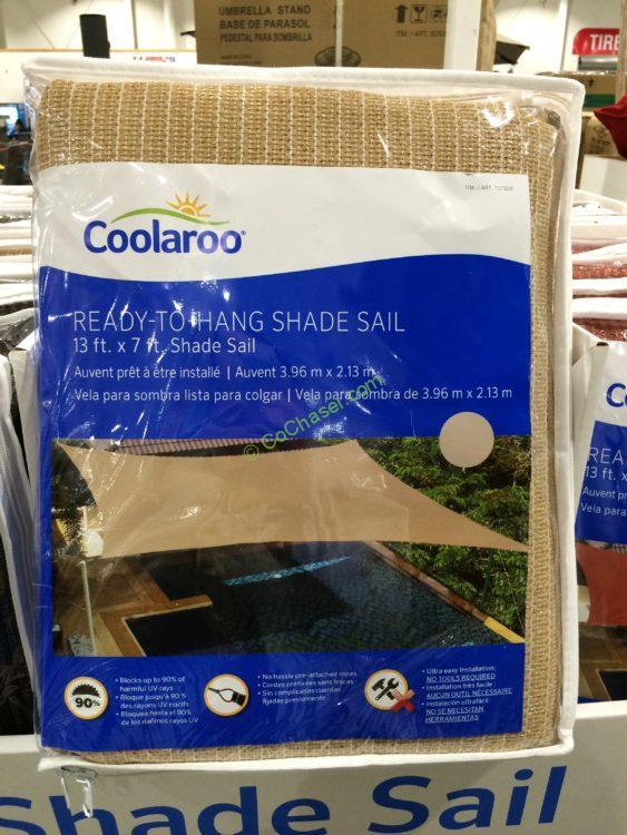 Coolaroo Shade Sail 13 X 7 Rectangle Costcochaser