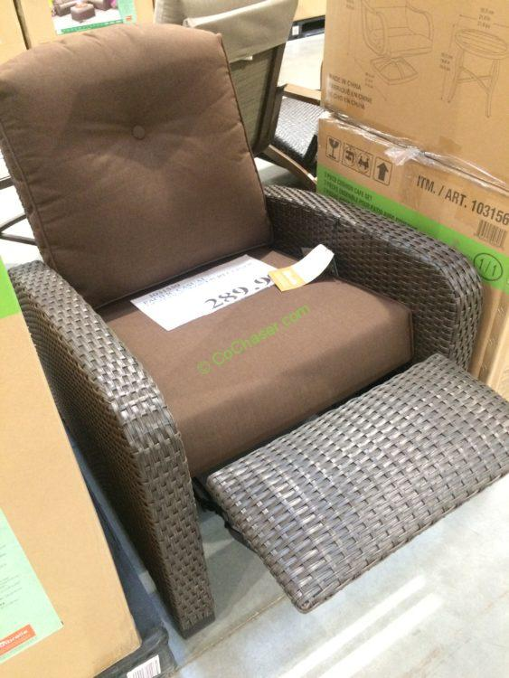 Outdoor Woven Recliner by Leggett & Platt Incorporated