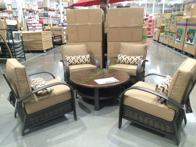 Woodridge 5-piece Patio Seating Set