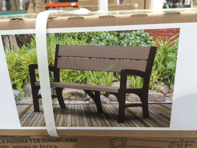 Keter Outdoor Bench Costcochaser