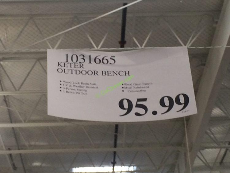 Costco-1031665-Keter-Outdoor-Bench-tag