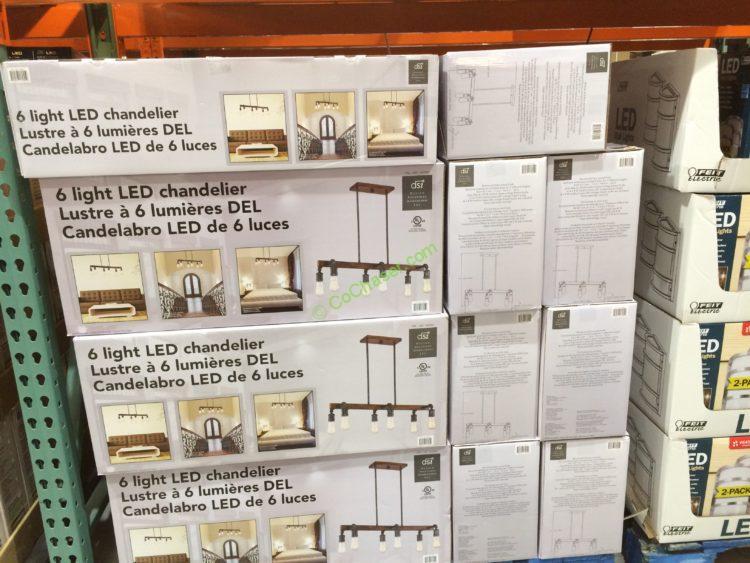costcolightledchandelierbydesignsolutions, Lighting ideas