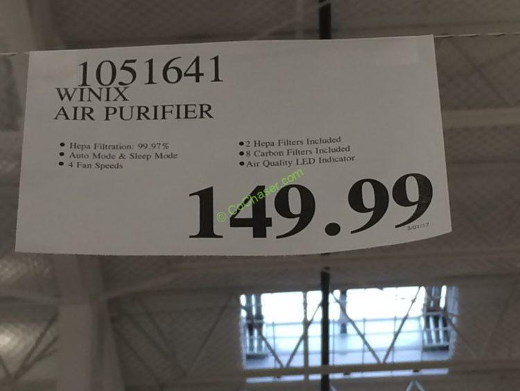 Costco-1051641-Winix-Air-Purifier-tag