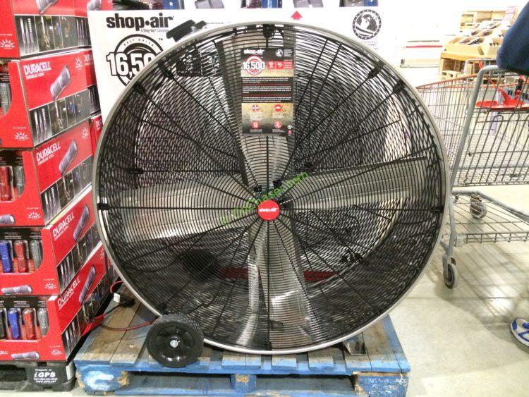 "Shop VAC Shop-Air 42"" Stainless Steel Drum Fan"