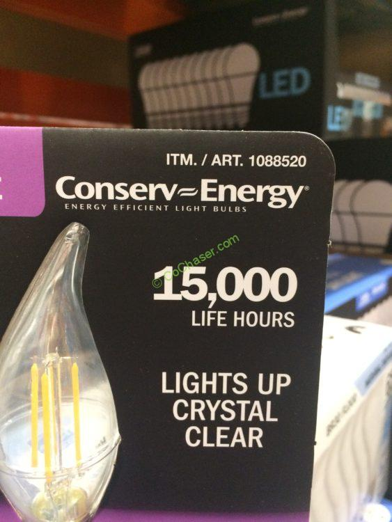 Costco Feit Led Patio Lights: Costco-1088520-Feit-Electric-LED-Chandelier-Bulbs-part
