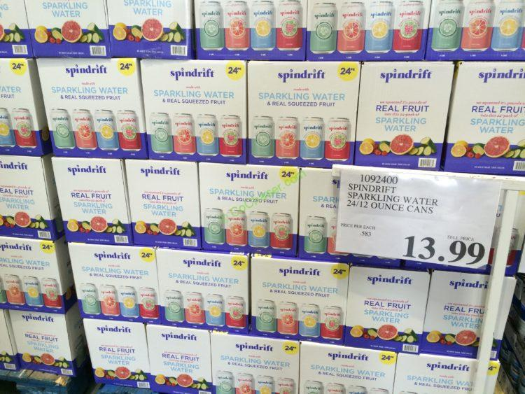 Costco 1092400 Spindrift Sparkling Water All Costcochaser