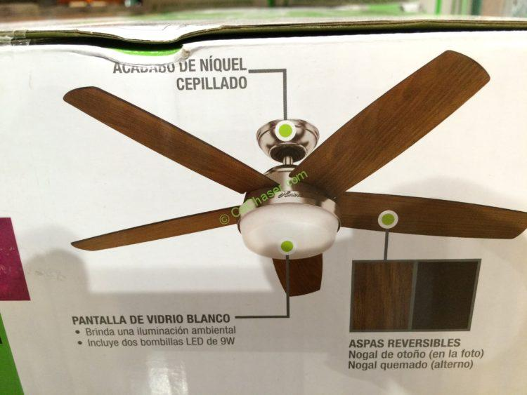 Costco 1099835 Hunter Led Indoor Celling Fan Part