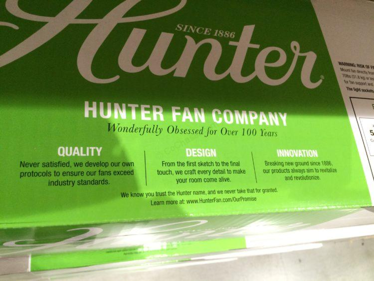 Hunter Avia Ceiling Fan Model 59234 Costcochaser