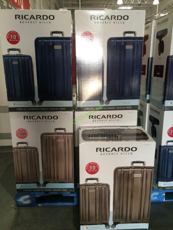 066bd2844 Ricardo Beverly Hills 2-piece Hardside Spinner Set – CostcoChaser