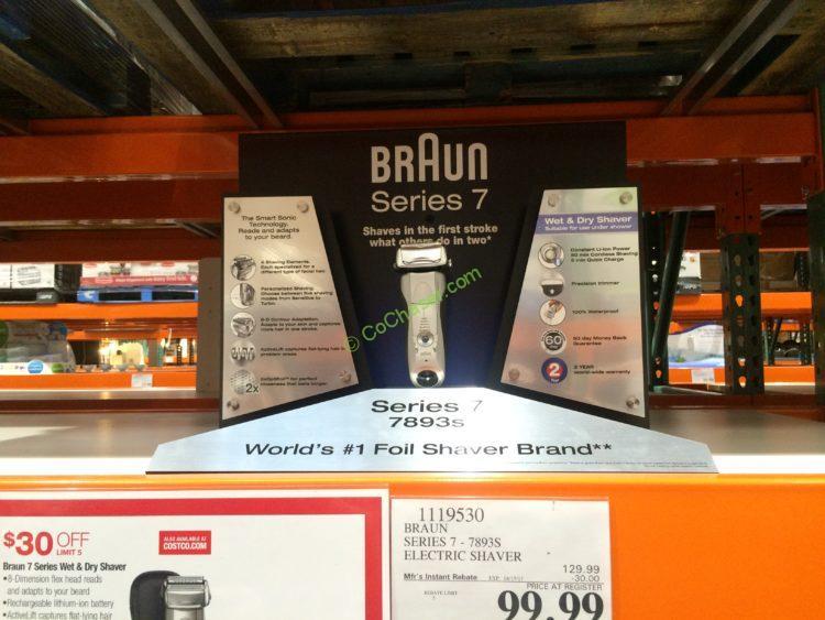 Braun Series 7 Electric Shaver Model#7893S