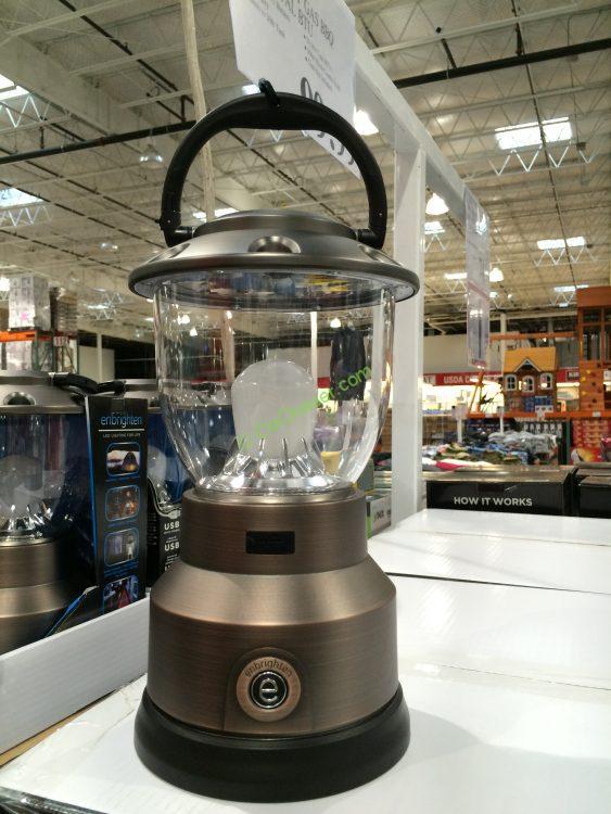 Enbrighten LED Lantern with USB Port