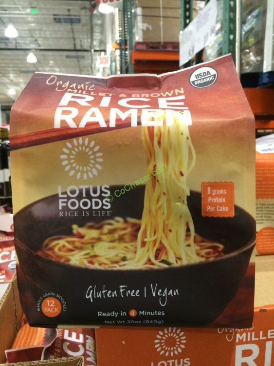 Lotus Foods Organic Millet & Brown Rice Ramen 1.875 Pound