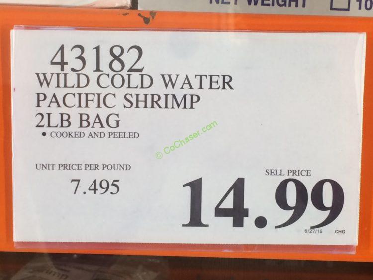 Costco-43182-Wild-Code-Water-Pacific-Shrimp-tag