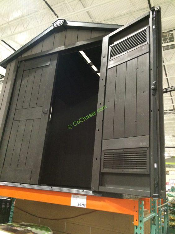 Keter 7 5 X 7 Resin Outdoor Storage Shed Costcochaser