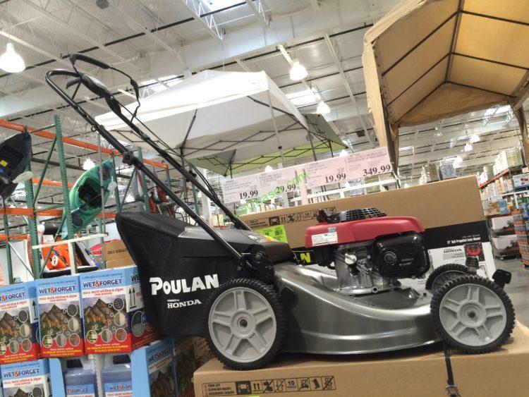Poulan Self-Propelled Mower Powered by Honda