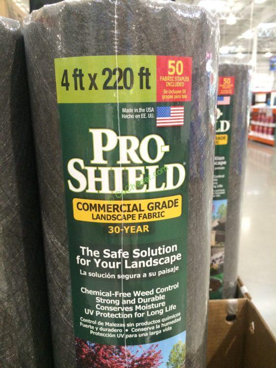 Costco 9339 Dalen Pro Shield Landscape Fabric Spec