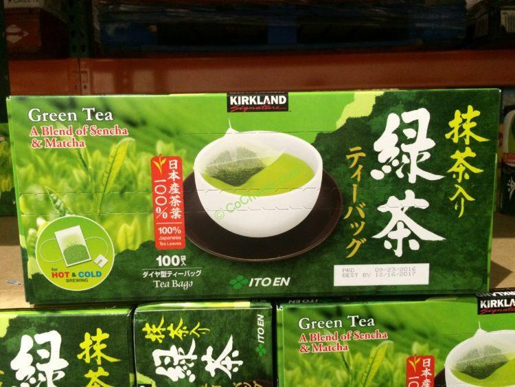 Kirkland Signature Japanese Green Tea 100 Count Box