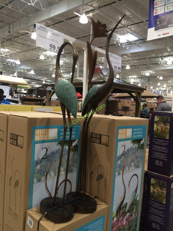 garden cranes. Costco-998863-Mullally-2PK-Cranes Garden Cranes